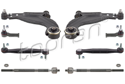 Bras, rotule de suspension, Kit complet 304695 TOPRAN