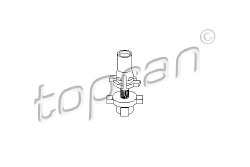 Support, fixation phare droit 102941 TOPRAN
